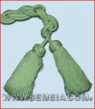CINGOLO X CAMICE IN RAYON VERDE